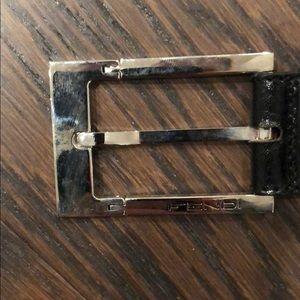 100% Authentic Men's FENDI belt. Size 105